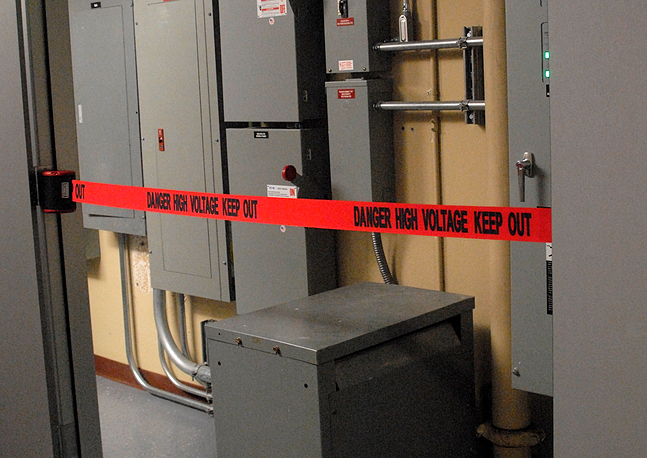 image of seven foot magnetic barrier