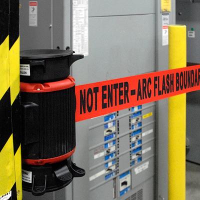 image of do not enter barrier