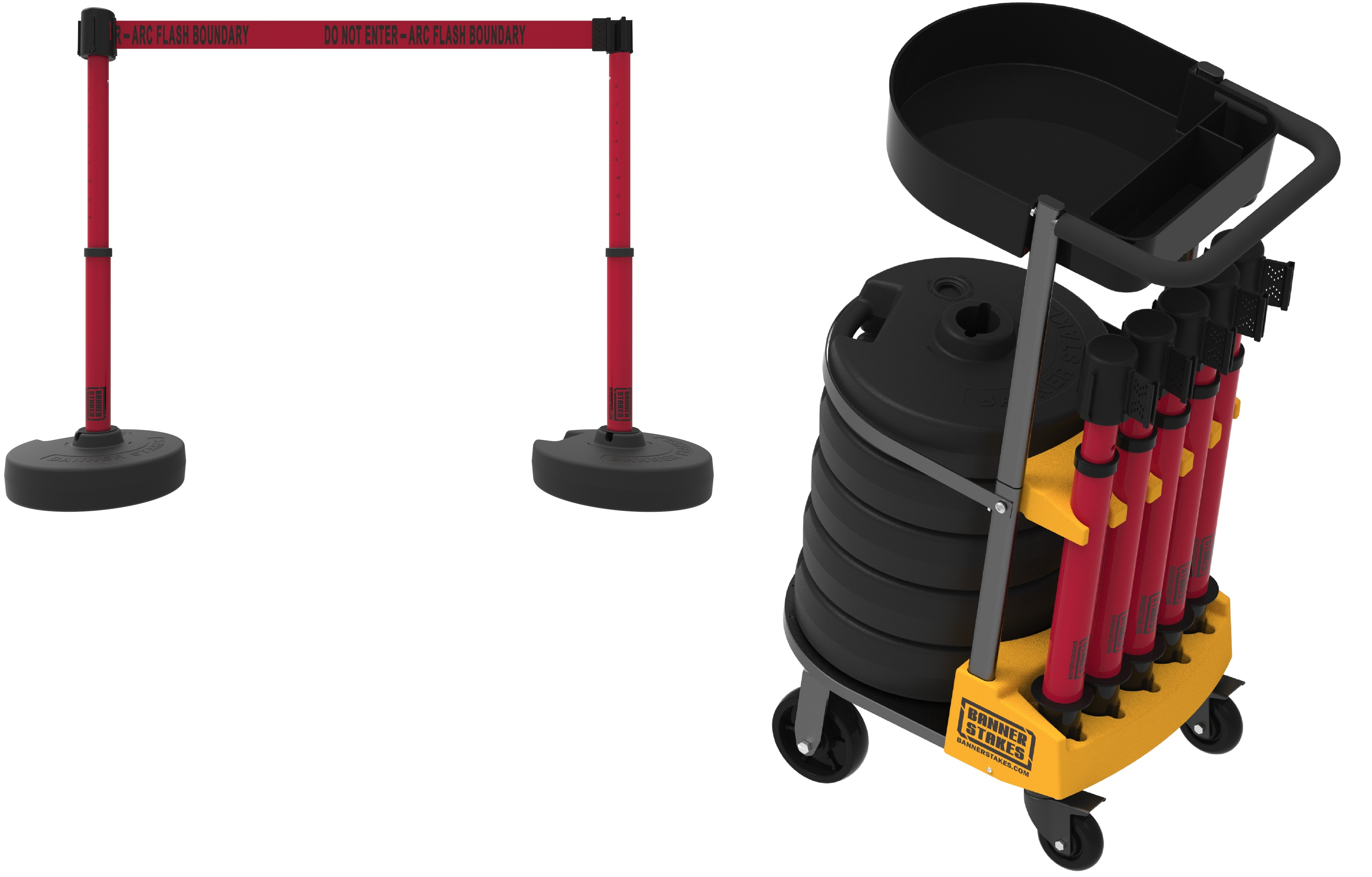 image of portable barriers