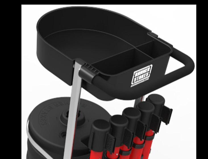 image of plus cart tray