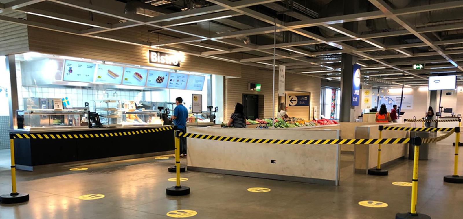 image of barrier in Ikea